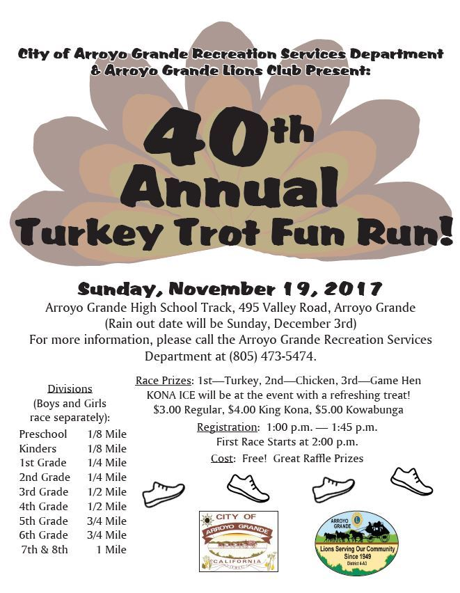 Turkey Trot Flyer 2018