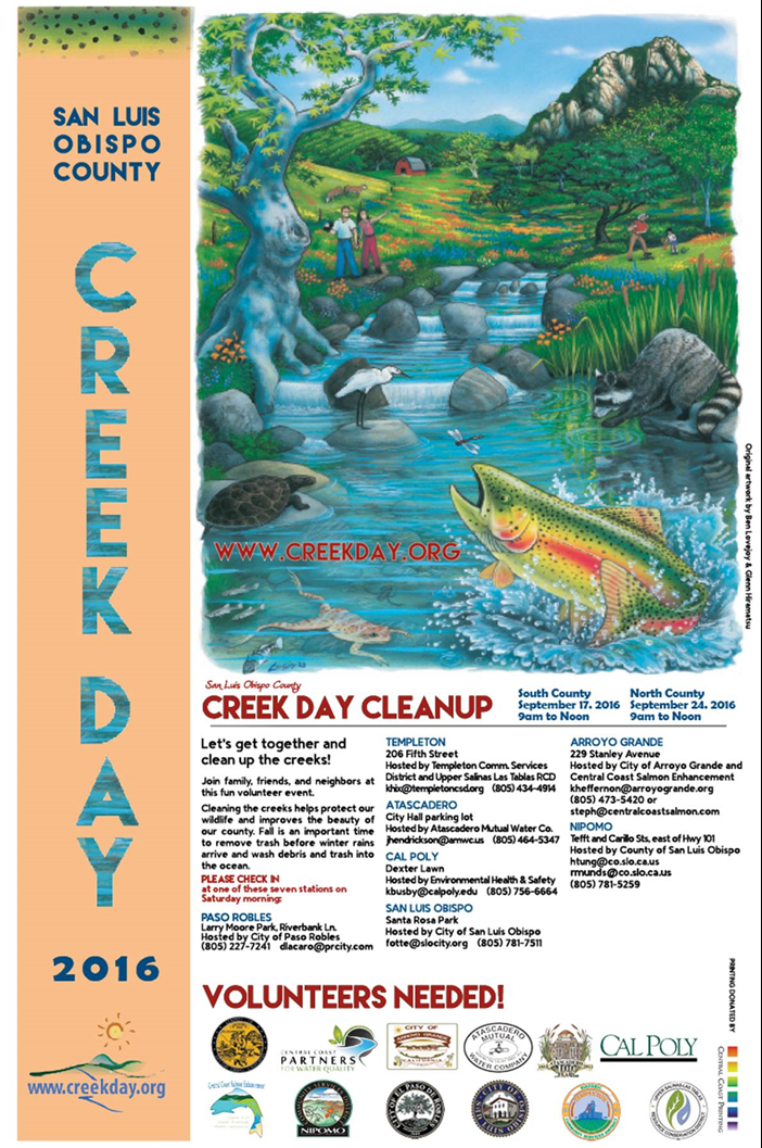Creek Day 2016